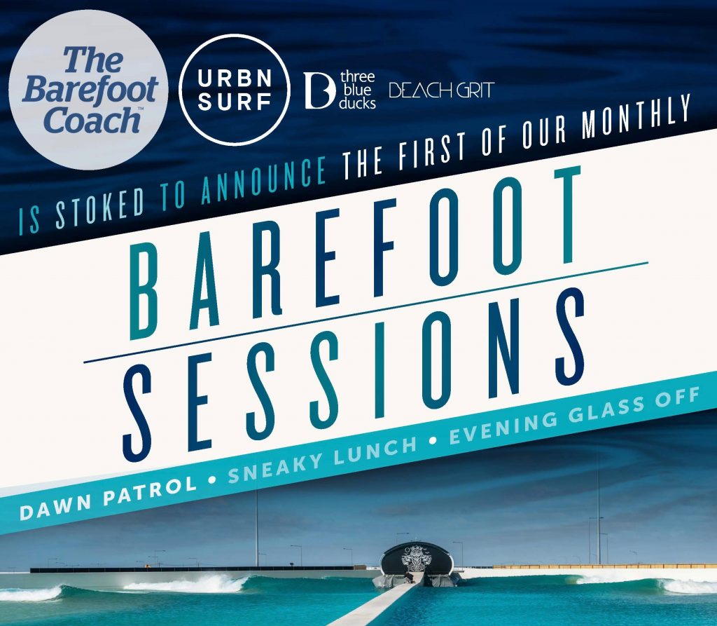 Barefoot Sessions white
